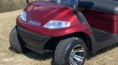 2021 Advanced EV 6 Passenger Burgundy Street Legal Golf Cart Front view