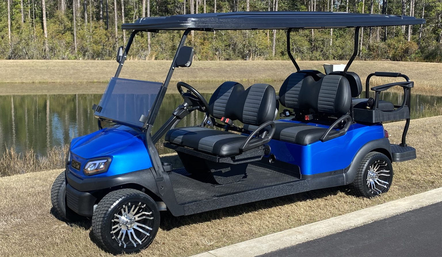 2021 Custom Club Car Street Legal Golf Cart